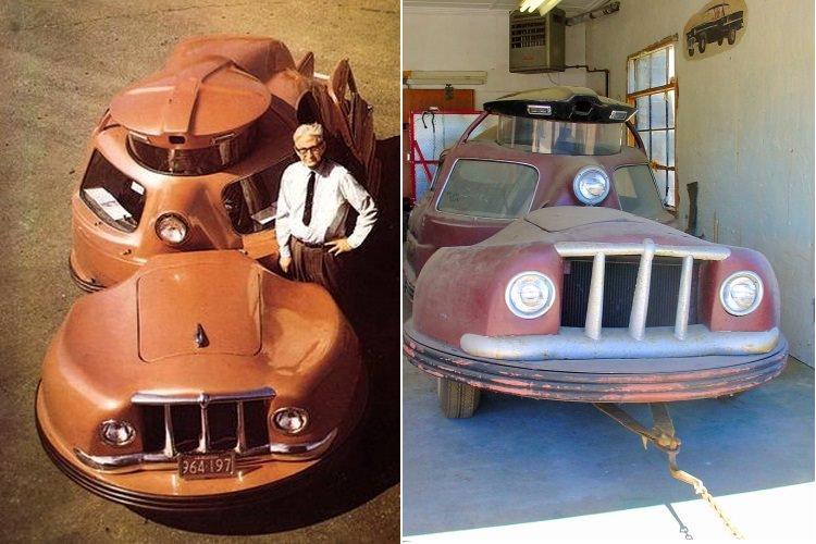 Sir Vival S- prototyp przegubowego bezpiecznego samochodu