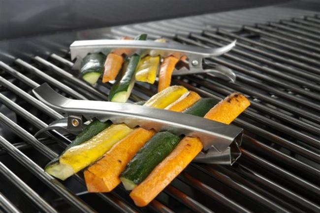 Klamry na grill