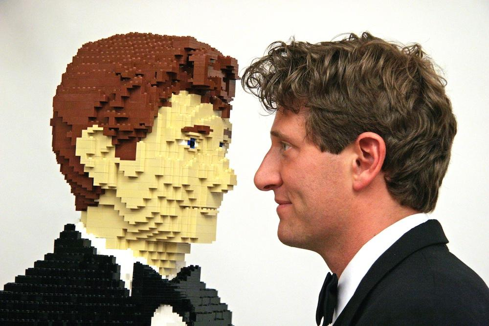 Nathan Sawaya - sztuka Lego