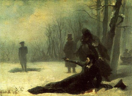 Aleksander Puszkin, ostatni pojedynek