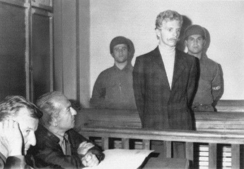 Billy Hayes przed sądem