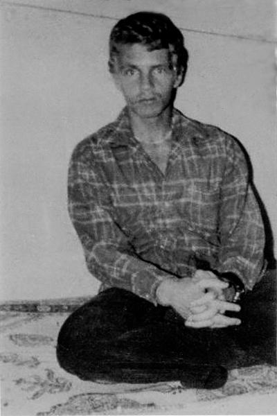 Billy Hayes w więzieniu.