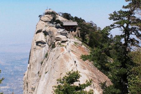 Chiny - Hua Shan, najtrudniejszy szlak turystyczny na Ziemii