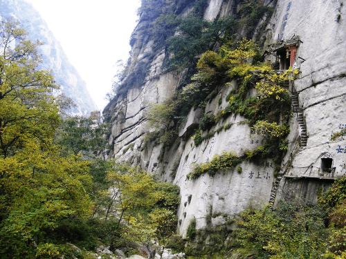 Chiny - Hua Shan szlak turystyczny