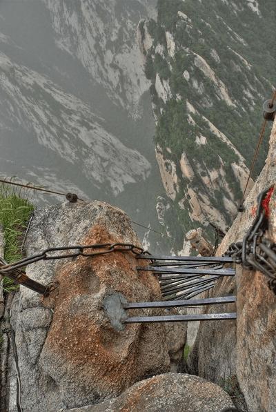 Chiny - Hua Shan trasa