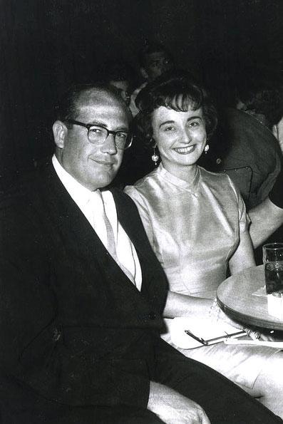 Doyle Brunson z żoną Louise