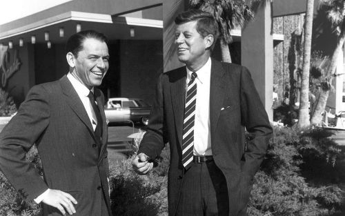 Frank Sinatra i John Fitzgerald Kennedy