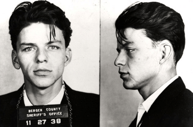 Frank Sinatra młody