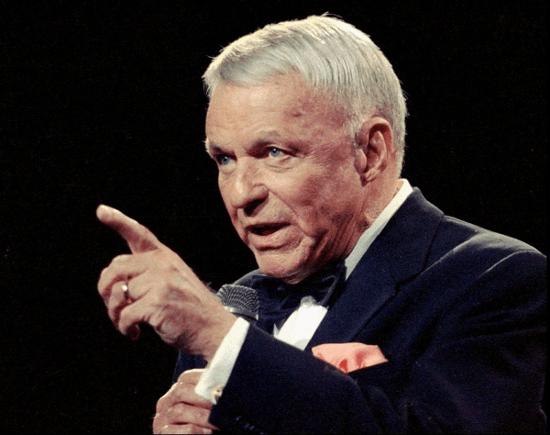 Frank Sinatra w podeszłym wieku