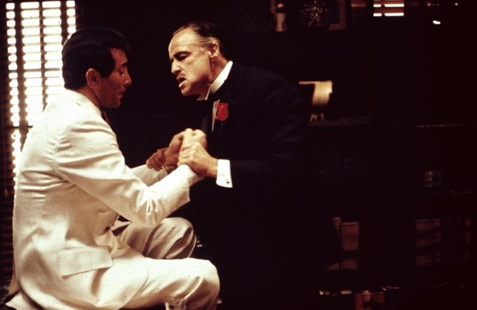 Johnny Fontane jako Frank Sinatra
