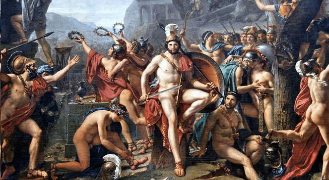 Leonidas pod Termopilami.