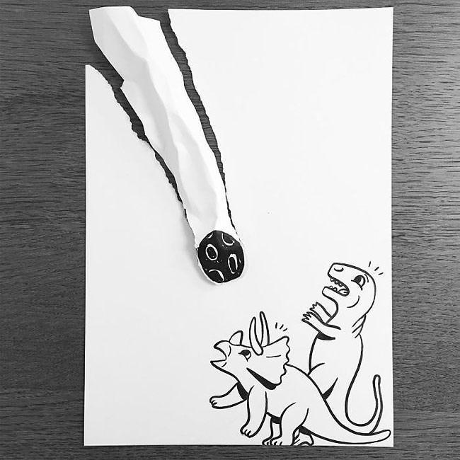 HuskMitNavn - rewelacyjne rysunki 3d