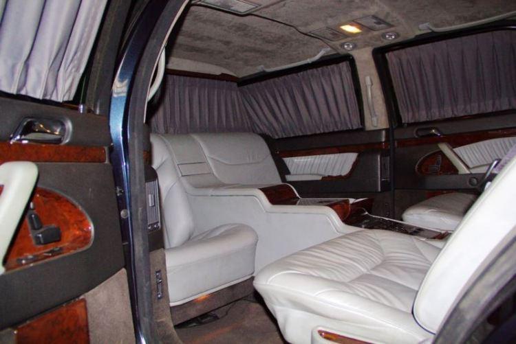 Mercedes S 600 Pullman Guard Władimira Putina