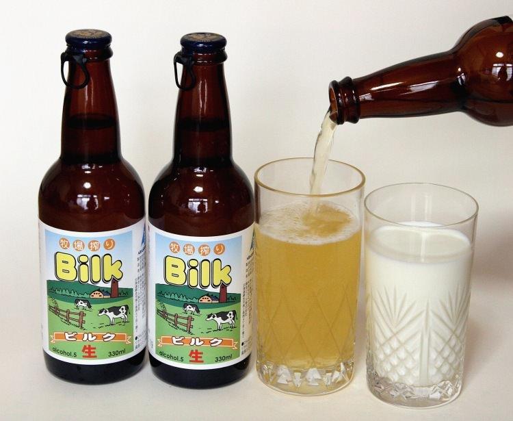 Bilk - połączenie piwa i mleka