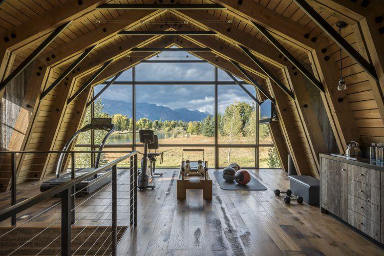 The Barn - stodoła przerobiona na mieszkanie