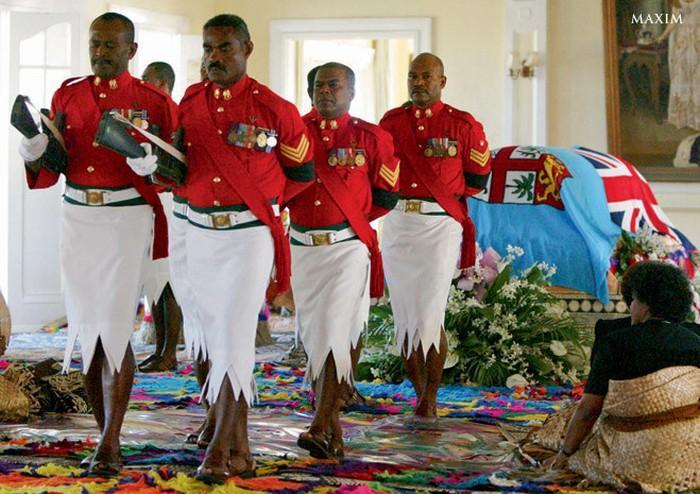 Fidżi mundury