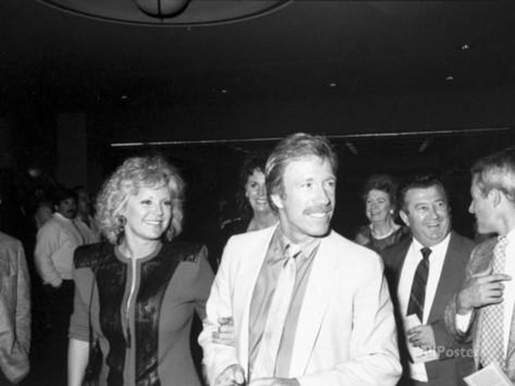 Chuck Norris Dianne Kay Holechek