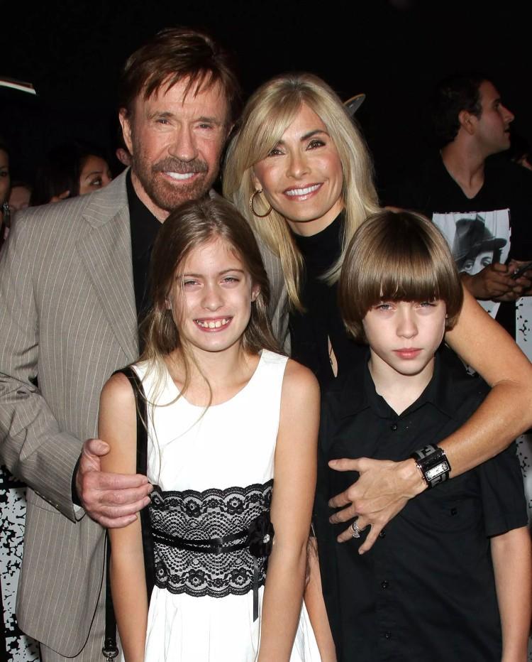 Chuck Norris i dzieci