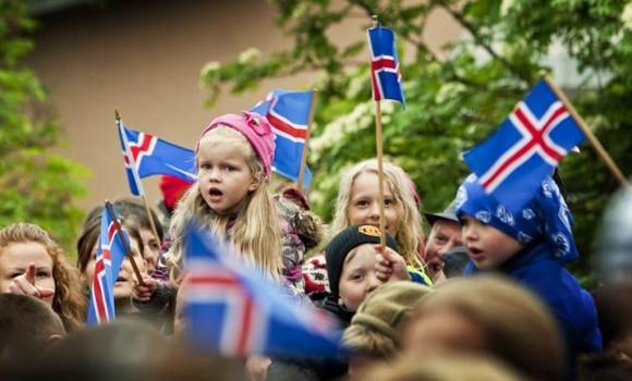 Islandia dzieci
