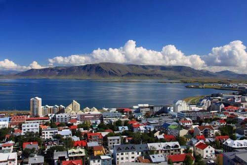 Islandia widok