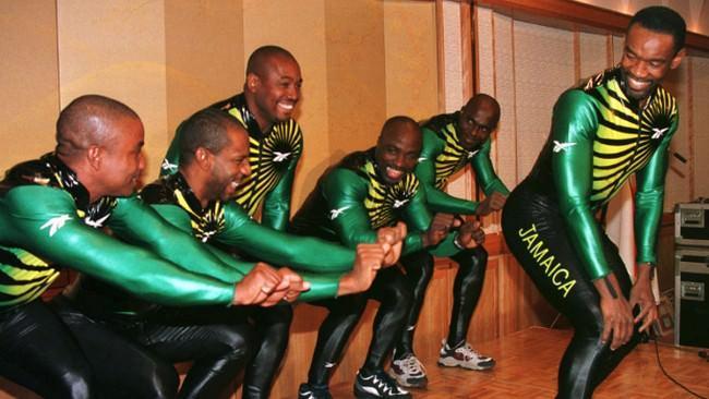 Jamajska drużyna bobslejowa 1998 rok Nagano