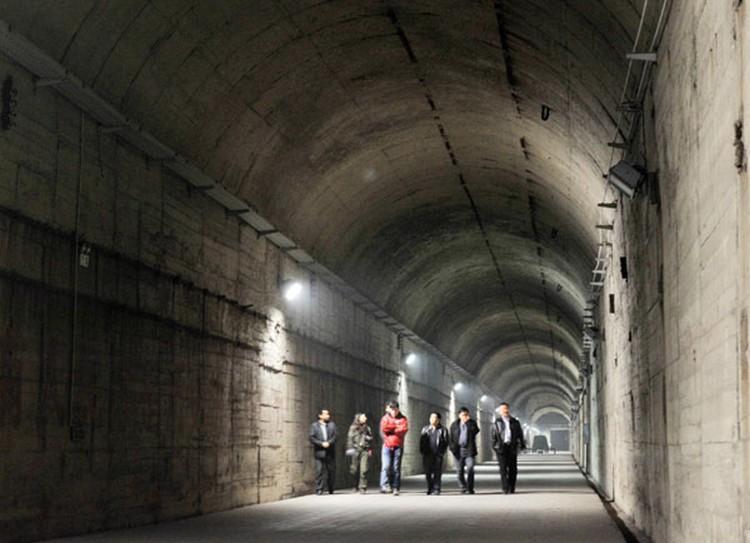 Pekin bunkry przeciwatomowe