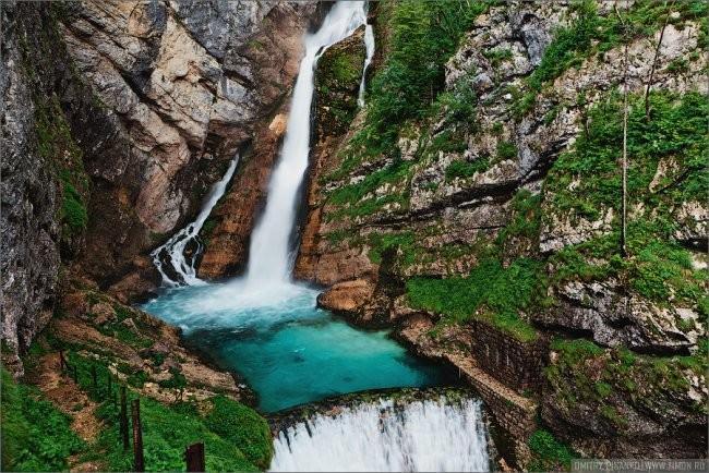 Słowenia wodospad