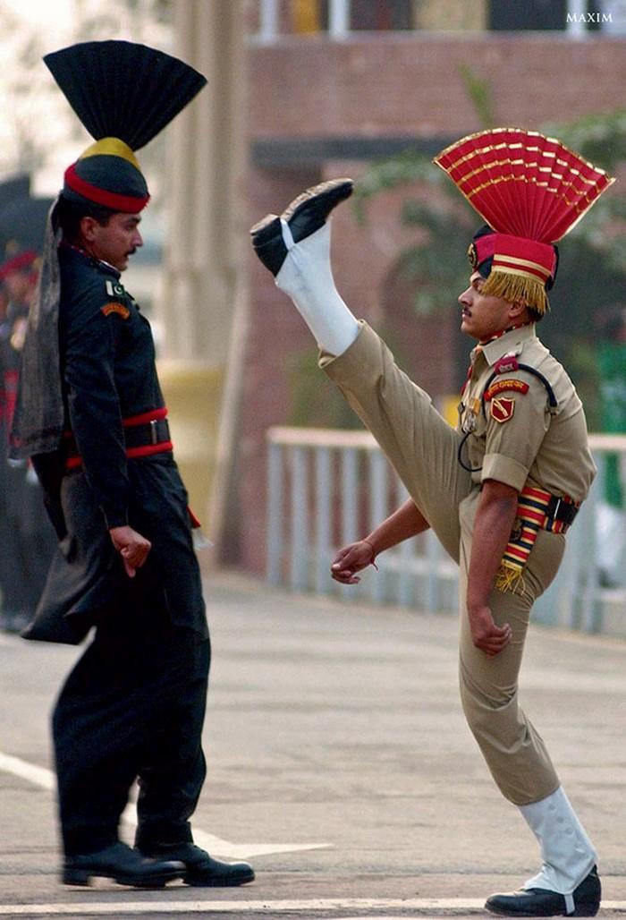 Pakistan oraz Indie - mundury