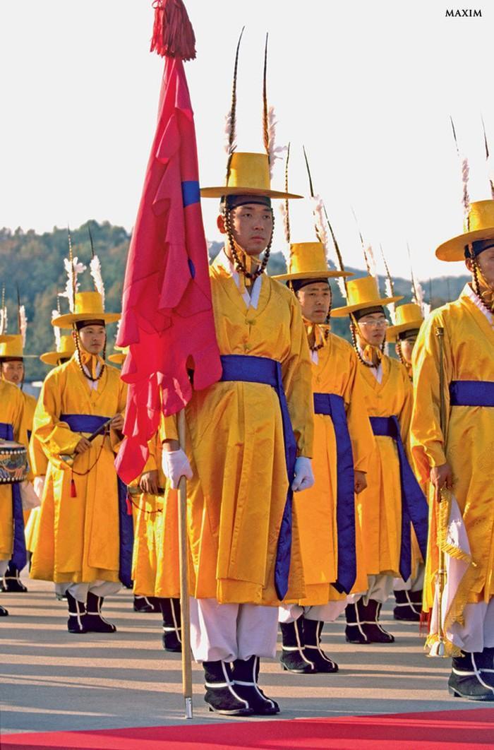 Korea Południowa mundury