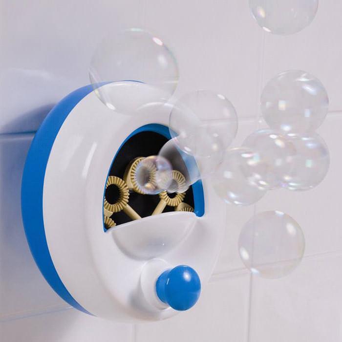 Prysznicowa maszyna do bąblków