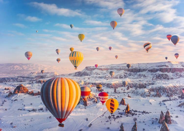 Kapadocja zdjęcia balonów