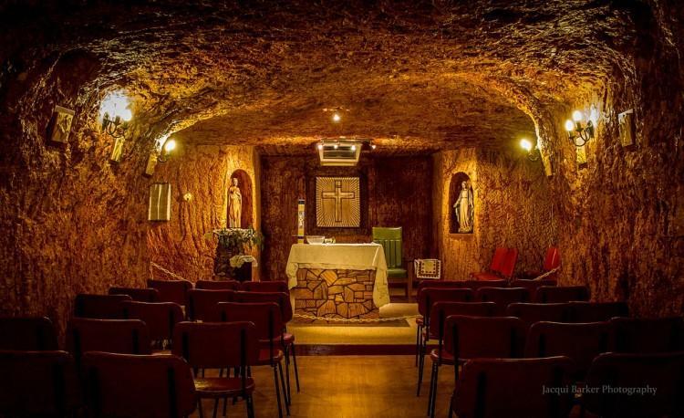 Kaplica w Coober Pedy