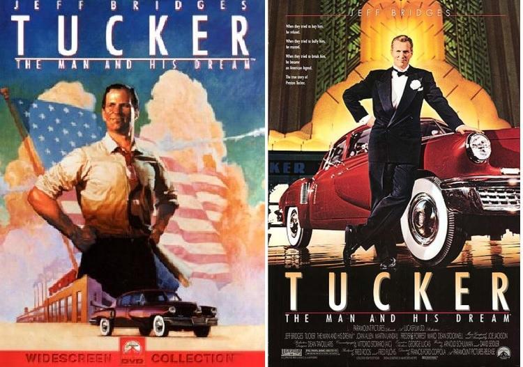 """""""Tucker. Konstruktor marzeń"""" - plakat filmowy"""