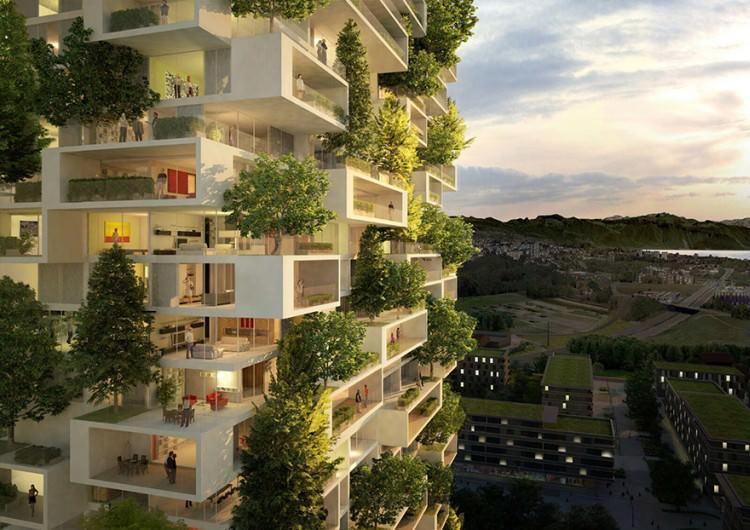 Projekt podobnego budynku, który ma powstać w Lozannie