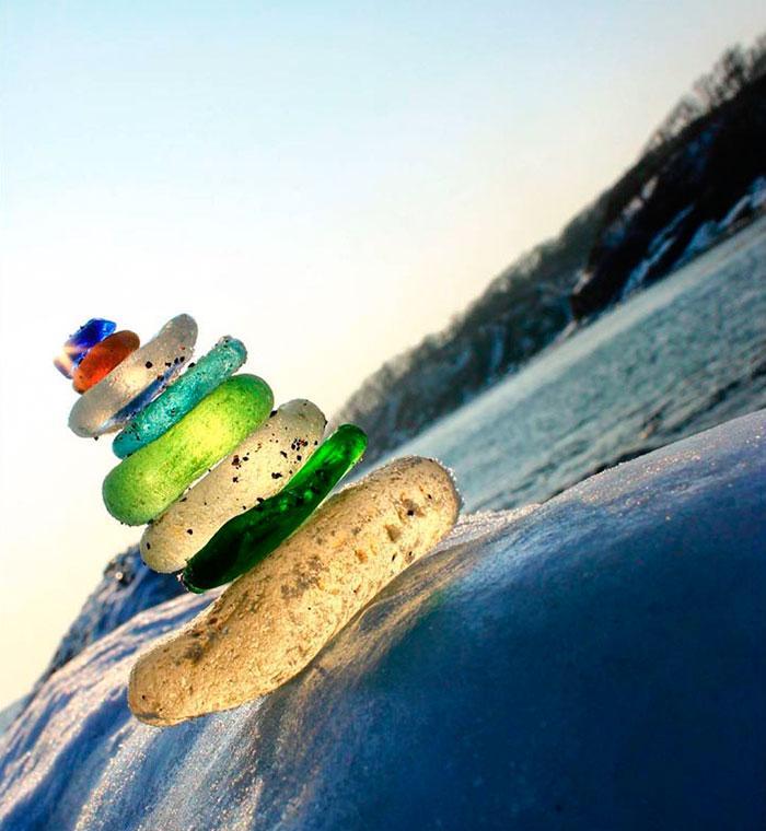 vodka-beach-bottle-pebbles-glass-ussuri-bay-russia-4