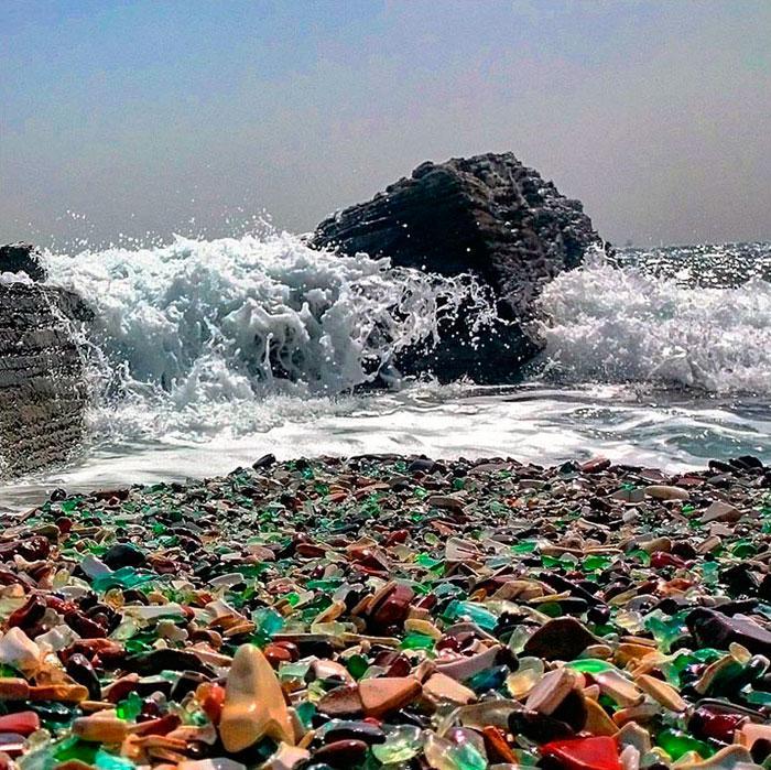 vodka-beach-bottle-pebbles-glass-ussuri-bay-russia-7