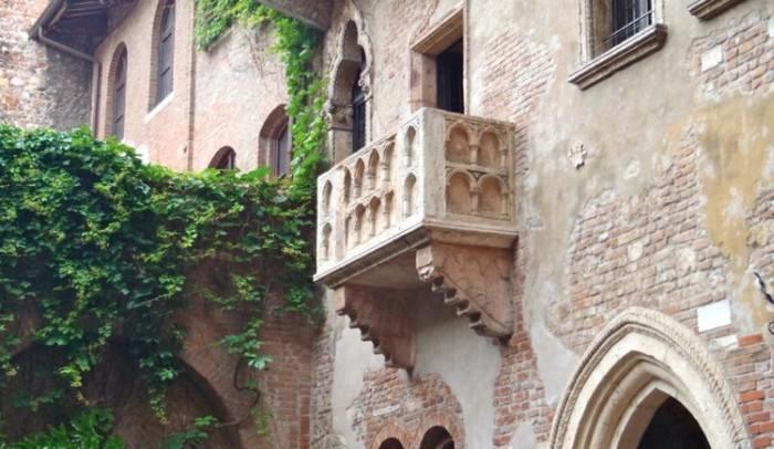 Balkon Julii w Weronie