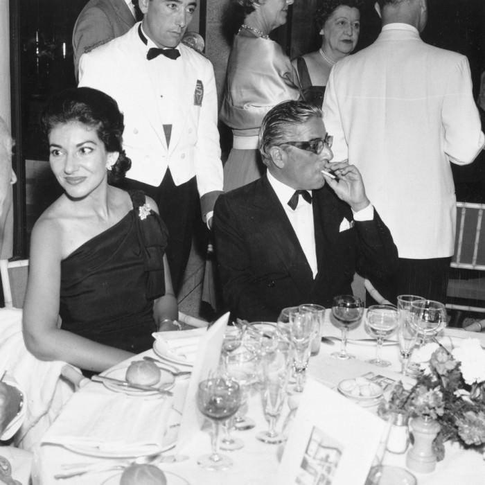 Maria Callas i Aristotle Socrates Onassis, styczeń 1961 rok