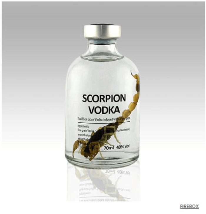 wódka ze skorpiona