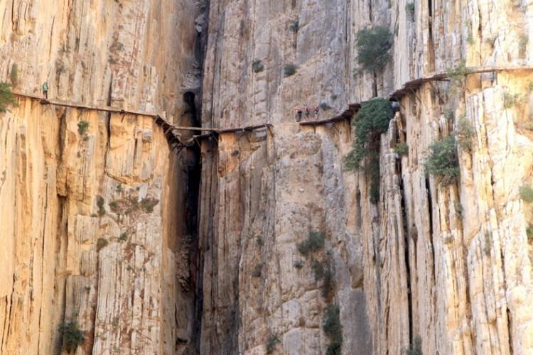 Caminito del Rey stary szlak