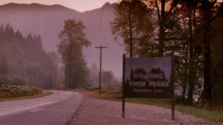 Twin Peaks tablica
