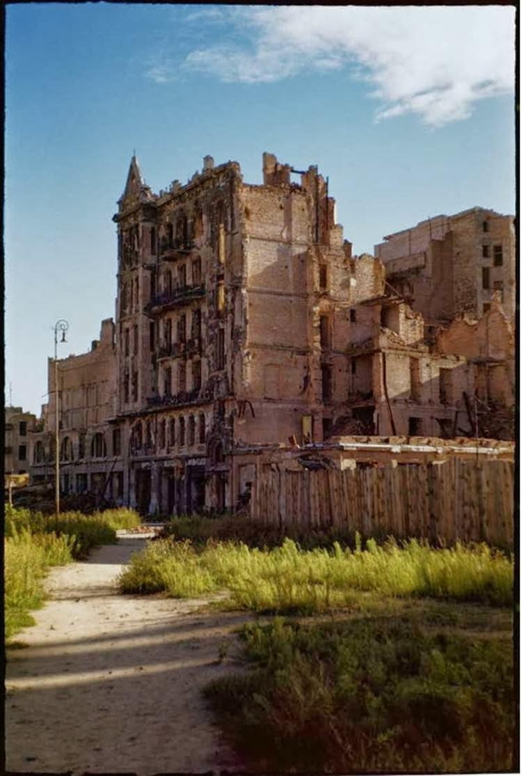 Warszawa po wojnie - zdjęcia zniszczeń