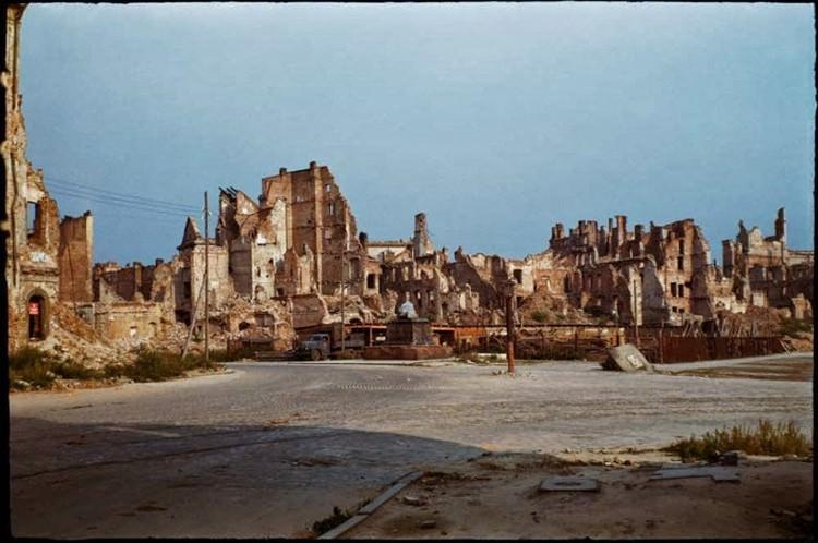 Warszawa - zdjęcia po wojnie