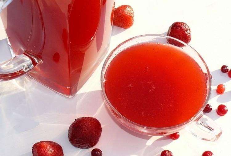 kisiel owocowy