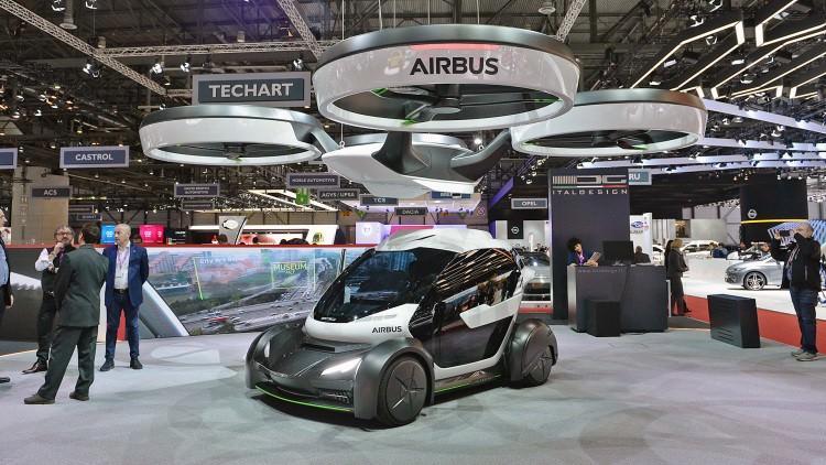 Pop.up - hybrydowy pojazd od Airbusa