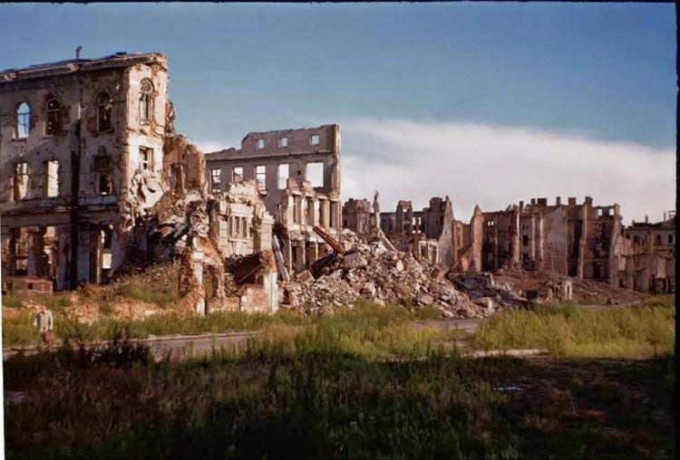 Zburzona Warszawa na zdjęciach