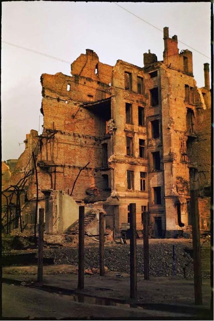 Zniszczona Warszawa  - zdjęcia