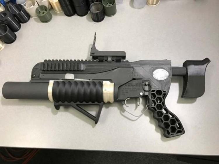 RAMBO - granatnik wydukowany w 3D