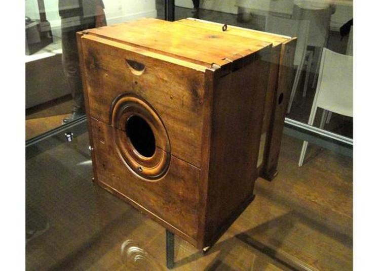 drewniana kamera