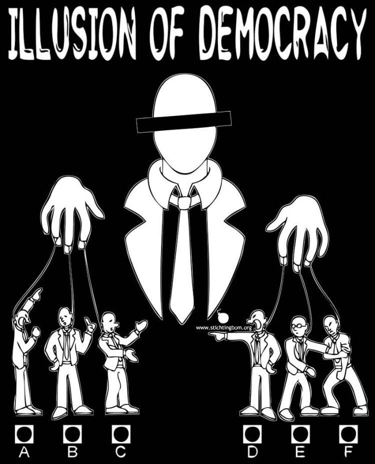iluzja demokracji